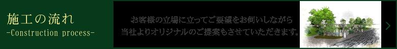 一本の木を植え育てる植木屋から造園建設まで宮崎市にある有限会社生目緑地建設の施工の流れ お客様の立場に立ってご要望をお伺いしながら当社よりオリジナルのご提案もさせて頂きます。