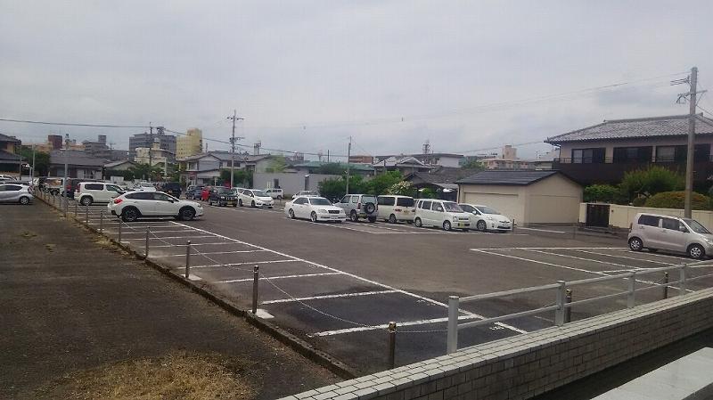 駐車場チェーン張替え工事