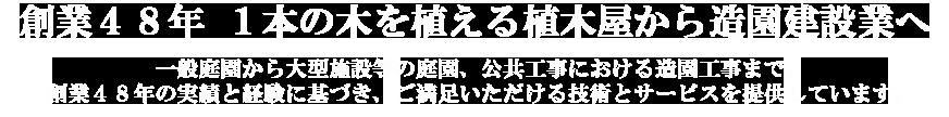 宮崎市で創業40年 1本の木を植える植木屋から造園建設業へ